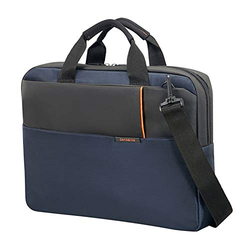 Samsonite Qibyte Laptop Bag, Small (40 cm - 8.5 liters), Blue