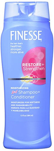 Finesse 2 in 1 Moisturizing Shampoo and Conditioner 13 fl oz (384 ml) by LORNAMEAD BRANDS INC.