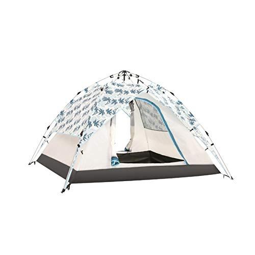 no-logo Tienda de campaña al Aire Libre 3-4 Personas a Prueba de Lluvia Familia Camping Quick-Layer Camping Camping Espesado Tienda Hidráulica (Color : B)