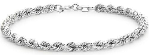 Tuscany Silver Zopfkette Armband Sterling Silber 18cm/7\'
