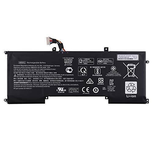 Vvsialeek AB06XL HSTNN-DB8C - Batería para portátil HP Envy 13-AD000NB 13-AD000NF 13-AD000NI 921438-855 (53,67 Wh)