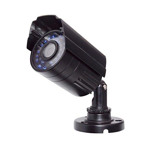 XSAYJIA Telecamera Esterno 1080P AHD Videocamera di Sorveglianza Bullet Camera CCTV 3.6mm Lenti 30 LED Night Vision fotocamera impermeabile (Nero)