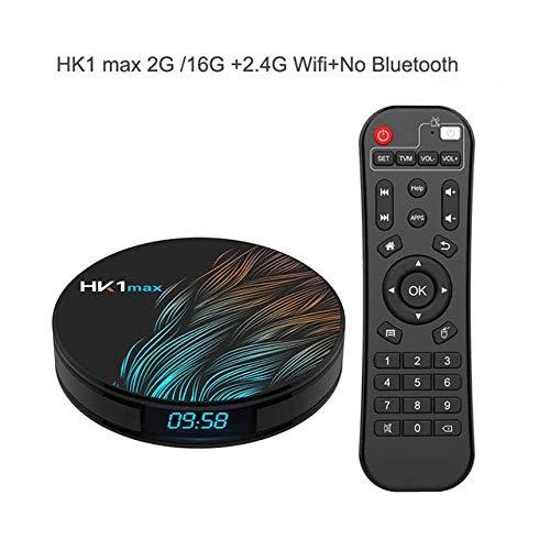 Redcolourful Smart TV Box Android 9.0 Asistente Google RK3328 TV Receptor 4K WiFi Media Player Play Store Aplicaciones gratuitas Fast Set Top Box: Amazon.es: Electrónica