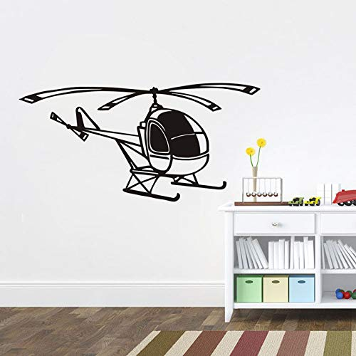Tianpengyuanshuai kleine helikopter huisdecoratie vinyl stickers voor vliegtuigen afneembare muurstickers kunst game-room woonkamer