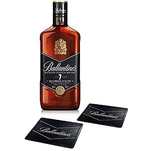 【父の日 ギフト プレゼント】 ブレンデッドスコッチウイスキー バランタイン 7年 オリジナルコースター2枚セット [ ウイスキー イギリス 700ml ] [ギフトBox入り]