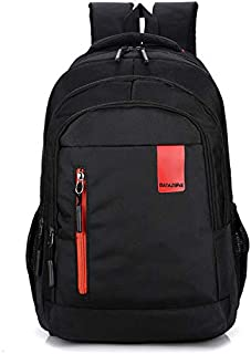 Datazone Travel Backpack, Lightweight Water Resistant Nylon Laptop Backpack, Shoulder Bag with Three Compartments and Side...