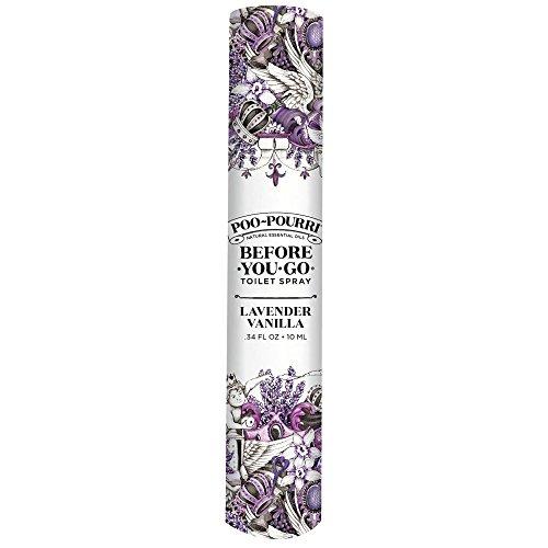 Poo-Pourri Before-You-go Toilet Spray, Lavender Vanilla Scent, 0.34 Fl Oz