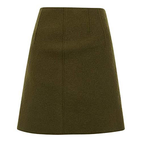 Marc O\'Polo Skirt, Easy Style, Short Length, Olive(Olivegreen (481)), Gr. 40