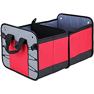 Sailnovo Multi-functional Foldable Trunk Organizer, Environmental Premium Best for SUV, Truck, Auto & any Vehicle,Heavy Durable Construction Non-Skid Waterproof Bottom:Hdmoviedownload