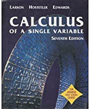 Student Edition (Calculus of a Single Variable 7th Edition For Advanced High School Courses)