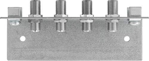 Axing QEW 4-06 Erdungswinkel 4-fach für Multischalter SPU xx8-06 Potenzialausgleich Metall