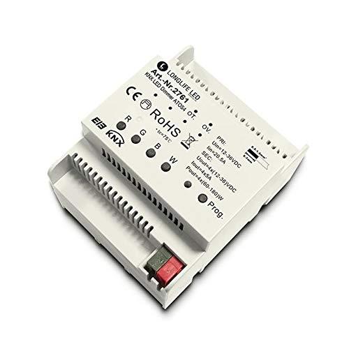 KNX RGBW Controller ATOS4 DIN Hutsch. 4-Kanal, 4x4A