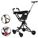 JKNMRL Trolley para niños/Trolley Plegable/Trolley Ligero con Sistema de absorción de Impactos SUV