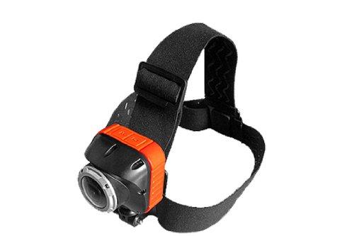 SportXtreme camera riem voor alle action cam, camera's, met schroefdraad, camera's, 1/4 inch (6,35 cm) en voor camera's van GoGoal, JVC ADIXXION, Liquid Image EGO, zwart