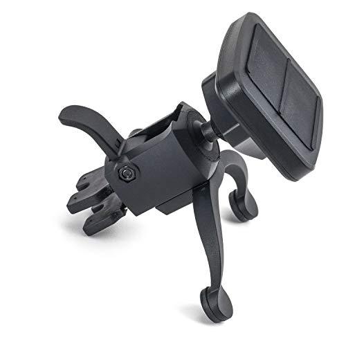 Dockem VentPro Magno Mount 3.0 Series: Magnetic Car Mount for Vents with Custom Metal Plates, Magnet Head, and Swivel Ball Socket