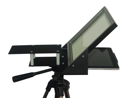 Android Tablet and Smartphone Teleprompter R810.1 with Beam Splitter Glass