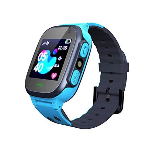 QoFina Kinder Smartwatch LBS Tracker, Musik Kids Smart Watch, SOS, 1,44 Zoll LCD-Touchscreen-Uhr mit Digitalkamera, Spielen, Wecker für Jungen Mädchen Student Geschenk