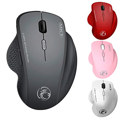 Wireless Mouse for MacBook Air Wireless Mouse for MacBook Pro Wireless Mouse for Laptop Mac Windows Desktop Computer iMac Chromebook (Grey)