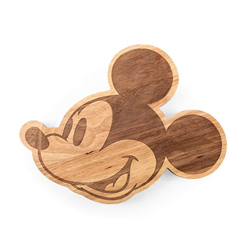 PICNIC TIME 499-00-505-013-11 Disney Classics Mickey Mouse Charcuterie Cutting Board, 14 by 11 inch