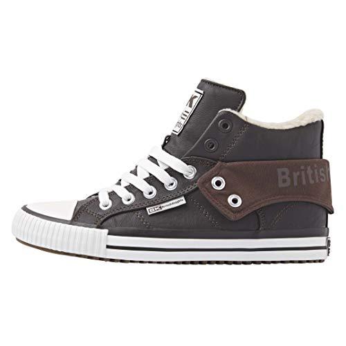 British Knights Herren ROCO Sneaker, Dk Brown, 44 EU