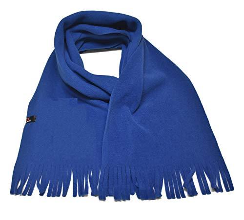 ADRENA Polartec Fleece Scarf |Warm Winter Tactical Scarf with Soft & Non-Pilling Polartec Fleece Fabric - Deep Blue