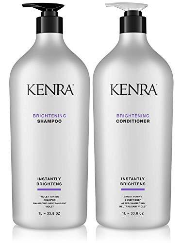 Kenra Brightening Shampoo & Conditioner Set, 33.8-Ounce