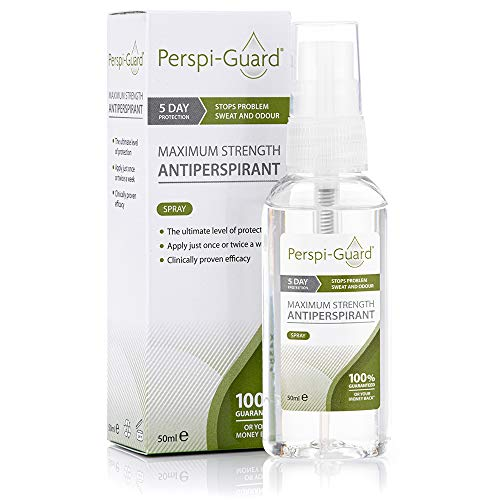 Perspi-Guard Spray Anti Transpirant Puissance Maximale 50 Ml
