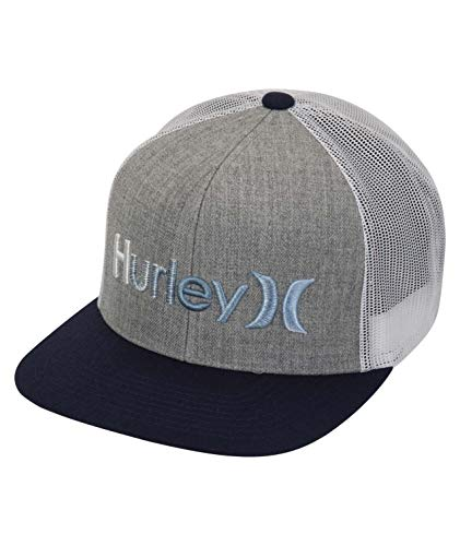 Hurley M One&Only Gradient Hat Gorra, Hombre, Dk Grey Heather, 1SIZE