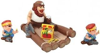 Pirate Family Bath Toys - Floating Bath Tub Toy, Non- Phthalate