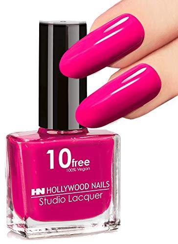 HN Hollywood nails 10 free vegan Nagellack (Pink)