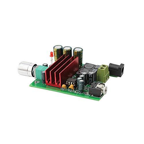 Nobsound 100W TPA3116D2 Amplifier Full Frequency Mono Channel Digital Power Amp Board NE5532 OPAMP 8-25V (Mono, Board)