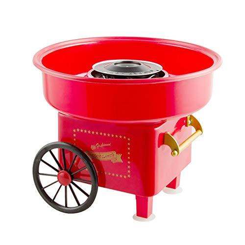 Zuckerwattemaschine Für Zuhause Set Elektrisch Retro Mini Kleiner Wagen, Zuckerwattegerät Für Kindergeburtstag Geburtstagsfeier Fiesta Kommerziell Zuhause | Cotton Candy Machine