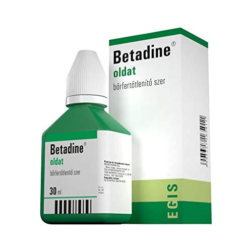 Betadine 100mg/ml – 30ml door EGIS