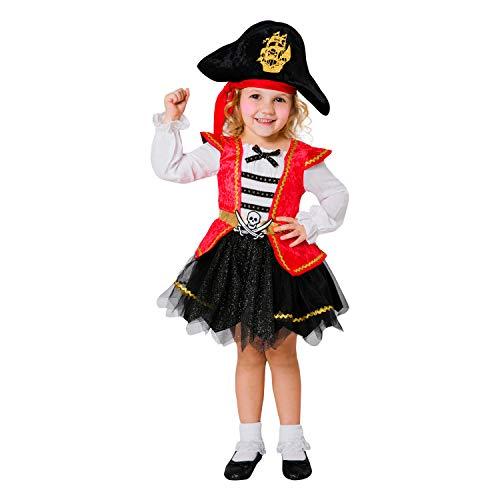 Disfraz de Pirata CARIBEÑA 12-24 Meses