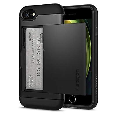 Spigen Slim Armor CS Designed for Apple iPhone SE 2020 Case/Designed for iPhone 8 Case (2017) / Designed for iPhone 7 Case (2016) - Black