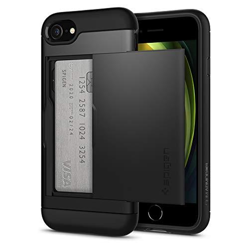 Spigen Slim Armor CS Designed for Apple iPhone 8 Case (2017) / Designed for iPhone 7 Case (2016) - Black