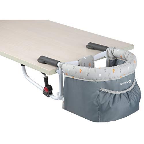 Safety 1st Smart Lunch Chaise de Table Compacte Pliable 6 Mois à 3, 5 Ans Warm Gray 15 kg 2728191000