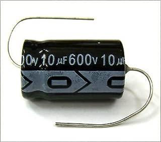 MIEC QTY 7 10UF 600V 105C Axial Electrolytic Capacitors