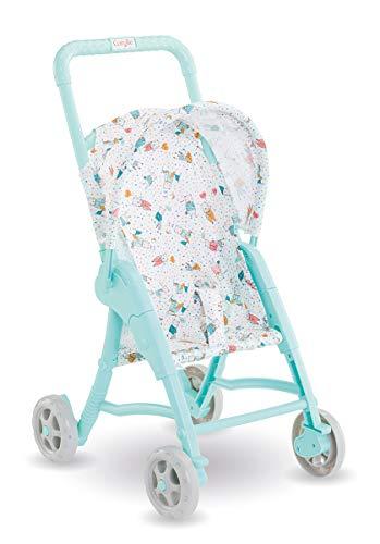 Corolle Mon Premier Poupon 30cm Puppenbuggy / blau / Puppenbuggy für alle 30cm Puppen / Für Kinder ab 18 Monaten geeignet