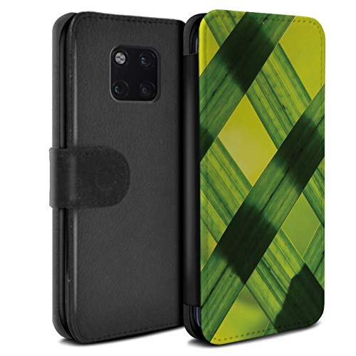 eSwish PU lederen hoesje/portemonnee/OTH-PSW/Green Fashion Collection Huawei Mate 20 Pro Nature Art/Photograph