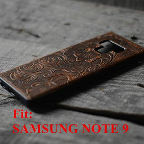 Handmade Book Leather Wallet Case for Samsung Galaxy Note 9 Back Case