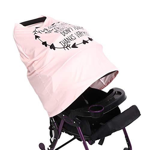 Camidy Asientos de Coche para Bebés Dosel para Cochecito Multifuncional Transpirable Toalla para Lactancia Materna Bufanda Cubierta de Lactancia para Bebés