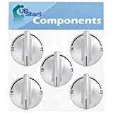 5-Pack 74007733 Gas Range Cooktop Burner Knob Replacement for Jenn-Air JGC8536ADS - Compatible with WP7733P410-60 Top Burner Control Knob