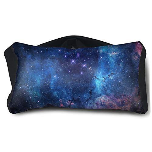Space Galaxy Coussin pour les yeux portable Super doux Taille unique 15 x 25 cm
