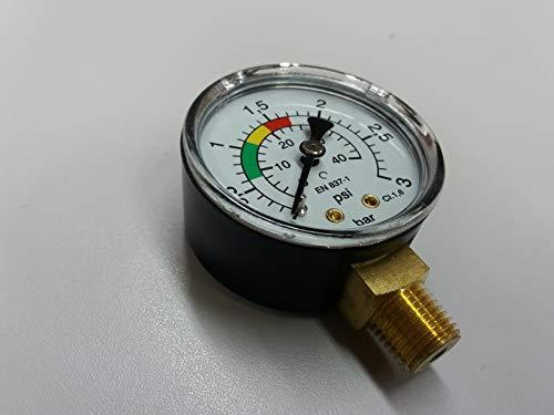 Manómetro CR 1/4'