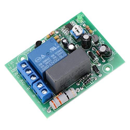 Rele Temporizzato, Akozon Modulo Relè Temporizzatore Timer Module AC220V Delay Timer Switch Modulo di Ritardo Accensione/Uscita Timer Regolabile(0~10min)