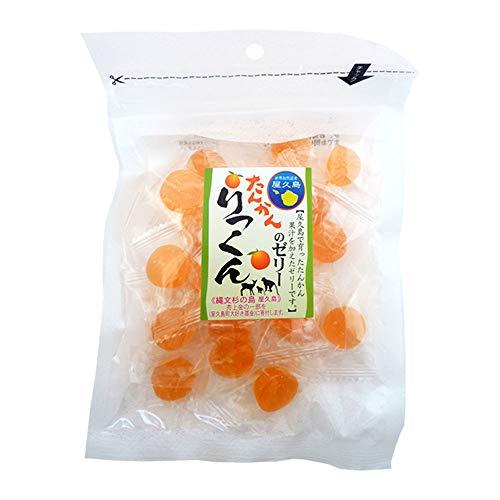 たんかんのゼリー 100g×3P 屋久島ふれあい食品 屋久島で育った たんかん果汁を加えたゼリー おやつに