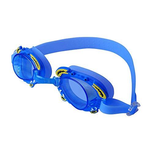MHP zwembril voor kinderen platte transparante duikbril voor jongens en meisjes