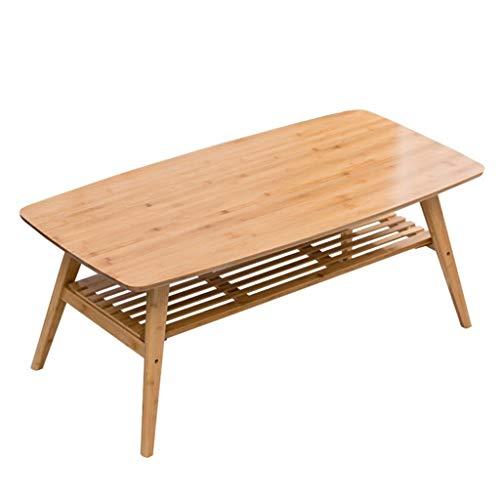 Tavolino Basso Multifunzionale Tavolino Basso Semplice bambù Tavolino Rettangolare Tatami Bovindo con Vano Contenitore Tavoli e tavolini (Color : Primary Color, Size : 100 * 60 * 50cm)