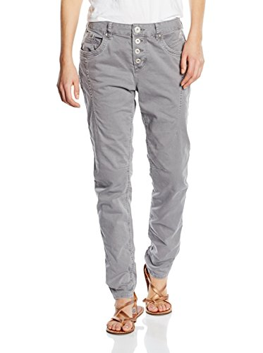 TOM TAILOR Denim Damen Lynn Antifit Pant/601 Hose, Grau (Smooth Grey 2645), 27W / 32L